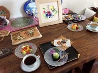 フォークアートレッスン - coco diary 山口県 お花と絵とテーブルコーディネートレッスン