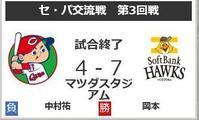 6月18日   セ・パ交流戦 - さ・ん・ぽ道