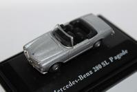 1/87 Schuco Mercedes-Benz 280SL Roadster - 1/87 SCHUCO & 1/64 KYOSHO ミニカーコレクション byまさーる
