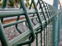 鉄道フェンス - 四十八茶百鼠