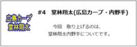 #4 堂林翔太(広島カープ・内野手) - ジョニーがゆく.com