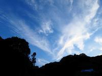 2017年06月19日・・・夕方の空 - 空と雲,季節の風と光と・・・景色