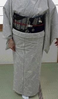 綿のお着物? - Jinの着付け教室(名古屋の着付け教室)