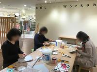 4月の北欧生地で作るカルトナージュ教室~2日目午前の部~ - 明石・神戸・姫路・加古川のカルトナージュ&タッセル教室 アトリエ・ペルシュ