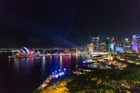vivid sydney 2017 ~2~ Sydney Harbour - *digital sky*