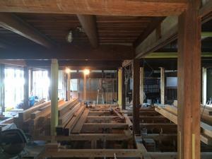 天理の家 進捗状況15 - 国産材・県産材でつくる木の住まいの設計 FRONTdesign  設計blog