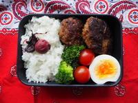6/19(月)豆腐ハンバーグ弁当 - ぬま食堂