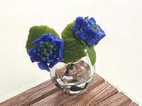 ぼくのごはん82_紫陽花 - こまログ