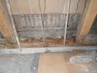 古民家:土壁:シロアリ点検 - 名古屋市の不動産情報をお届けします。大丸屋不動産