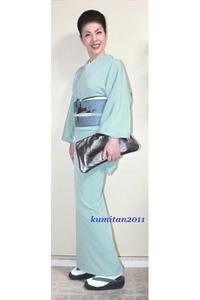 今日の着物コーディネート♪(2017.6.19)~楊柳絽着物&アンティーク紗帯編~ - 着物、ときどきチロ美&チャ美。。。お誂えもリサイクルも♪