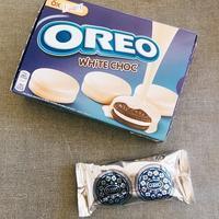 おやつタイム「オレオ」ホワイトチョココーティング - 今日も食べようキムチっ子クラブ (我が家の韓国料理教室)