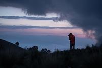 Iztaccihuatl山(5230m)の駐車場は3,900m。 - 二勝三敗