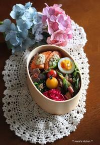 鮭の粒マスタードマヨグリル(๑¯﹃¯๑)♪ - **  mana's Kitchen **