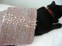 卓上織り機ですぐに織れるミニマフラー - アトリエひなぎく 手織り教室