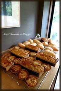 「Square Bagel」&「Curry Bagel」、「Pain aux bananes & 湘南小麦のパン」 - KuriSalo 天然酵母ちいさなパン教室と日々の暮らしの事