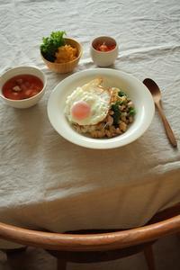 ガパオライス風 - はぐくむキッチン