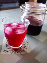紫蘇シロップと梅シロップ - bauletto