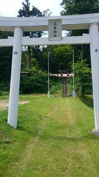 大呂神社 - 5月の風