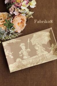 ジュイ柄の楽しみ方 - Fabrikoのカルトナージュ ~神戸のアトリエ~