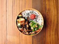 6/20(火)ズッキーニの肉巻きオイスター照り焼き弁当 - おひとりさまの食卓plus
