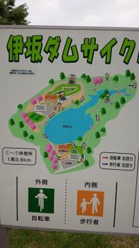 伊坂ダムサイクルパーク - 母まっしぐら