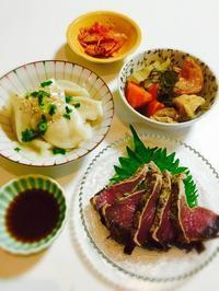 軽めの夕食☆ - Mi-Rinのおいしいもの日記