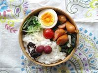 6/20(火)ウインナーとほうれん草のソテー弁当 - ぬま食堂