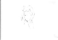 《 (Moveing) 水無月 ―― 連続する90 second croquis  5  》 - 画室『游』 croquis・ drawing・dessin・ sketch