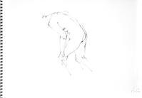 《 (Moveing) 水無月 ―― 連続する90 second croquis  6  》 - 画室『游』 croquis・ drawing・dessin・ sketch