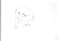 《 (Moveing) 水無月 ―― 連続する90 second croquis  7  》 - 画室『游』 croquis・ drawing・dessin・ sketch