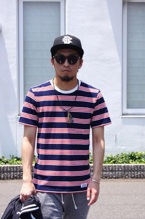WACKO MARIA - STRIPED CREW NECK T-SHIRT. - dogdays☆underpass...Sea&Sun