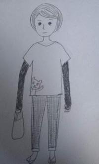おばさんが持ってるアレ - たなかきょおこ-旅する絵描きの絵日記/Kyoko Tanaka Illustrated Diary