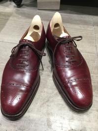【SPIGOLA】日本の誇るビスポークシューズ「スピーゴラ」 - 銀座三越5F シューケア&リペア工房<紳士靴・婦人靴・バッグ・鞄の修理&ケア>