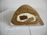 父の日にティラミス風ロールケーキ - cuisine18 晴れのち晴れ