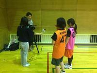 TV取材 - ABBANDONO2009(杉並区高円寺で平日夜活動中の男女混合エンジョイバスケットボールチーム)