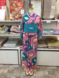 セオアルファ素材の浴衣入荷です♫ - Tokyo135° sannomiya