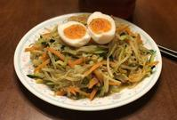今日のしらたきメニューは 野菜とツナのカレー味♪ - よく飲むオバチャン☆本日のメニュー