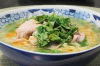 パクチーの豚しゃぶラーメン - Mme.Sacicoの東京お昼ごはん