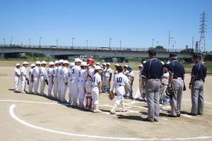 富田林市民大会Bクラス 決勝戦 - 大阪府富田林少年軟式野球連盟です。