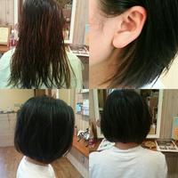 夏なので?切る人多し! - 松江市美容室 hair atelier bonet(ヘアアトリエボネット)