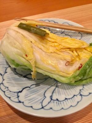 あなた!こんな白菜のお漬物食べたことありますかっ? - Regina×マダム松澤のクリスタルルーム