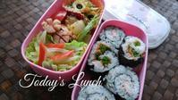 娘ののり巻き弁当 - 料理研究家ブログ行長万里  日本全国 美味しい話