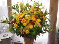 楽しい夏スタイルの花 - ルーシュの花仕事