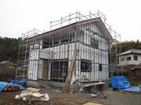 ゆったりな二階のある家③(大工工事、外壁、内部工事) - ㈱栃毛木材工業