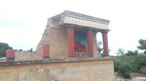 【170608】新婚旅行5日目報告~クレタ島クノッソス宮殿、サントリーニ島~ - のんびりいきましょ