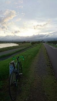 多摩川サイクリング  - 仮想行