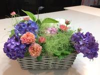 バスケットに入れて・・・♪ - Flower Days ~yucco*のフラワーレッスン&プリザーブドフラワー~