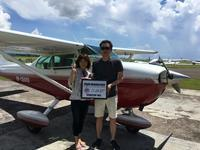 ご夫婦で体験 - ENJOY FLYING ~ セブの空