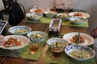 ラビオリ作り - 海辺のイタリアンカフェ  (イタリア料理教室 B-カフェ)