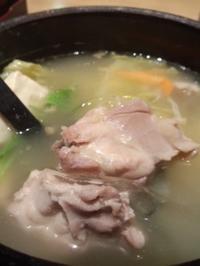 都庁前 博多華味鳥(はなみどり)の水たき御膳 - 東京ライフ